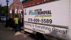 All Day Junk Removal Truck